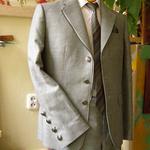 Kostiumas jaunuoliui iš lino